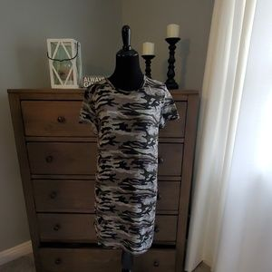 FITZ+ EDDI camo print dress